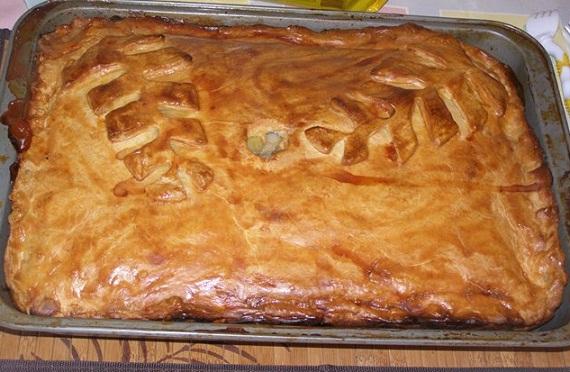 Пирог курник в духовке рецепт